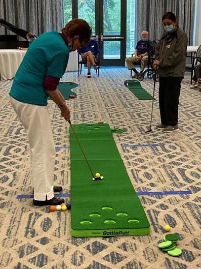 Hear a Pin Drop on the Putting Green
